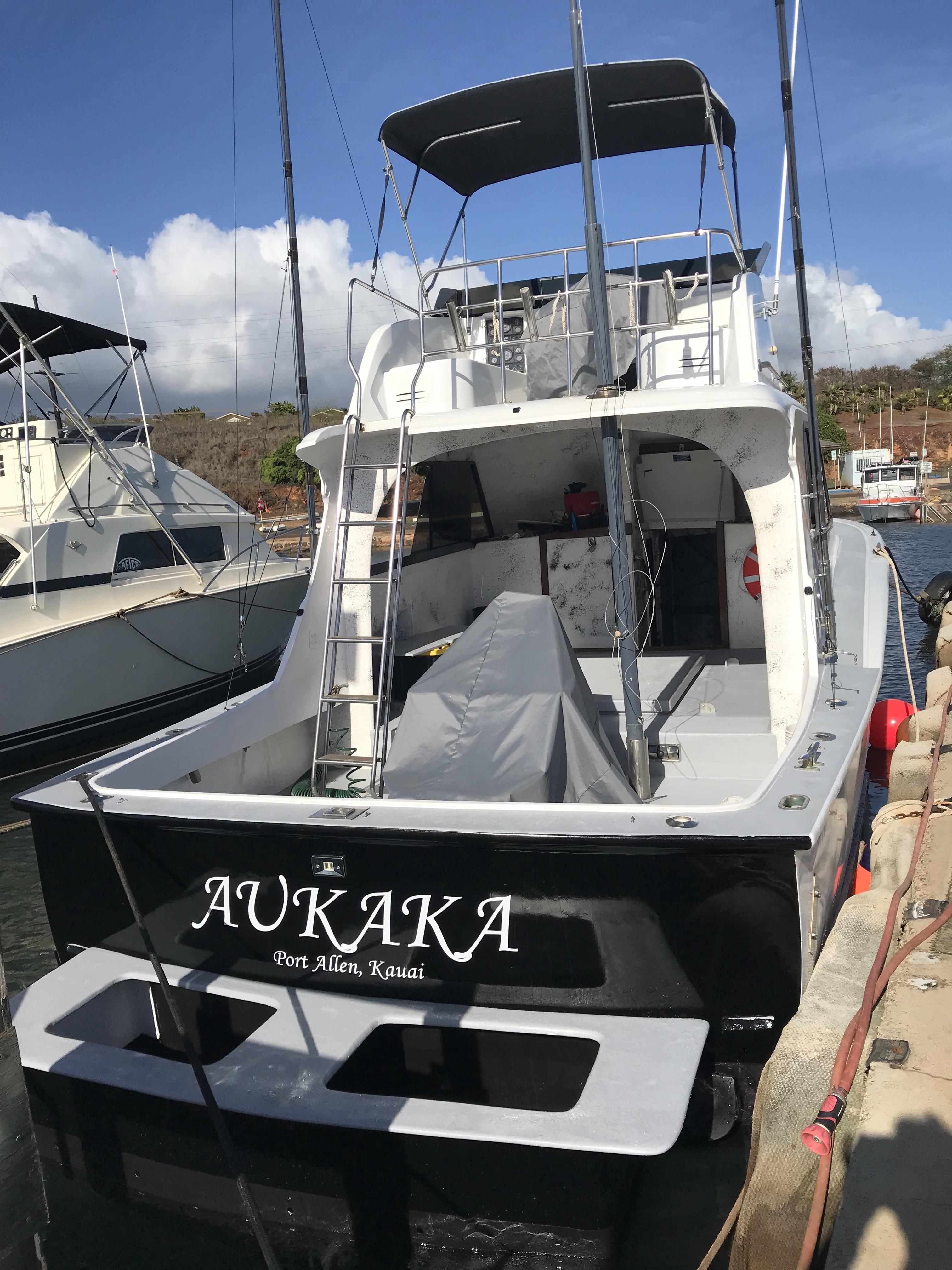 Kauai fishing charter aukaka fishing in kauai hawaii for Fishing in kauai