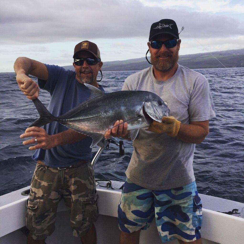 Kauai fishing charter boat sportfishing hawaii for Fishing in kauai