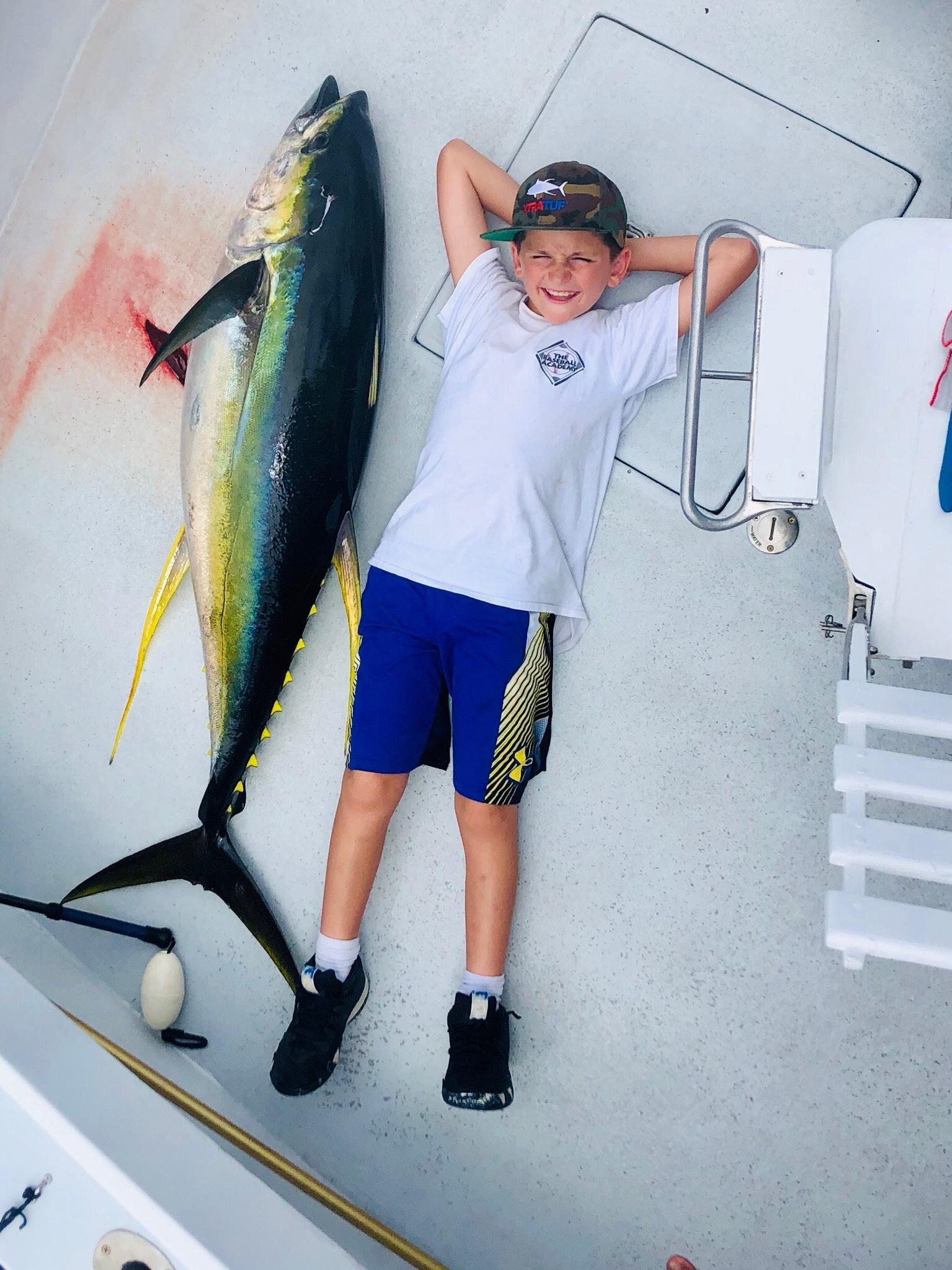 Kauai Fishing with Kids