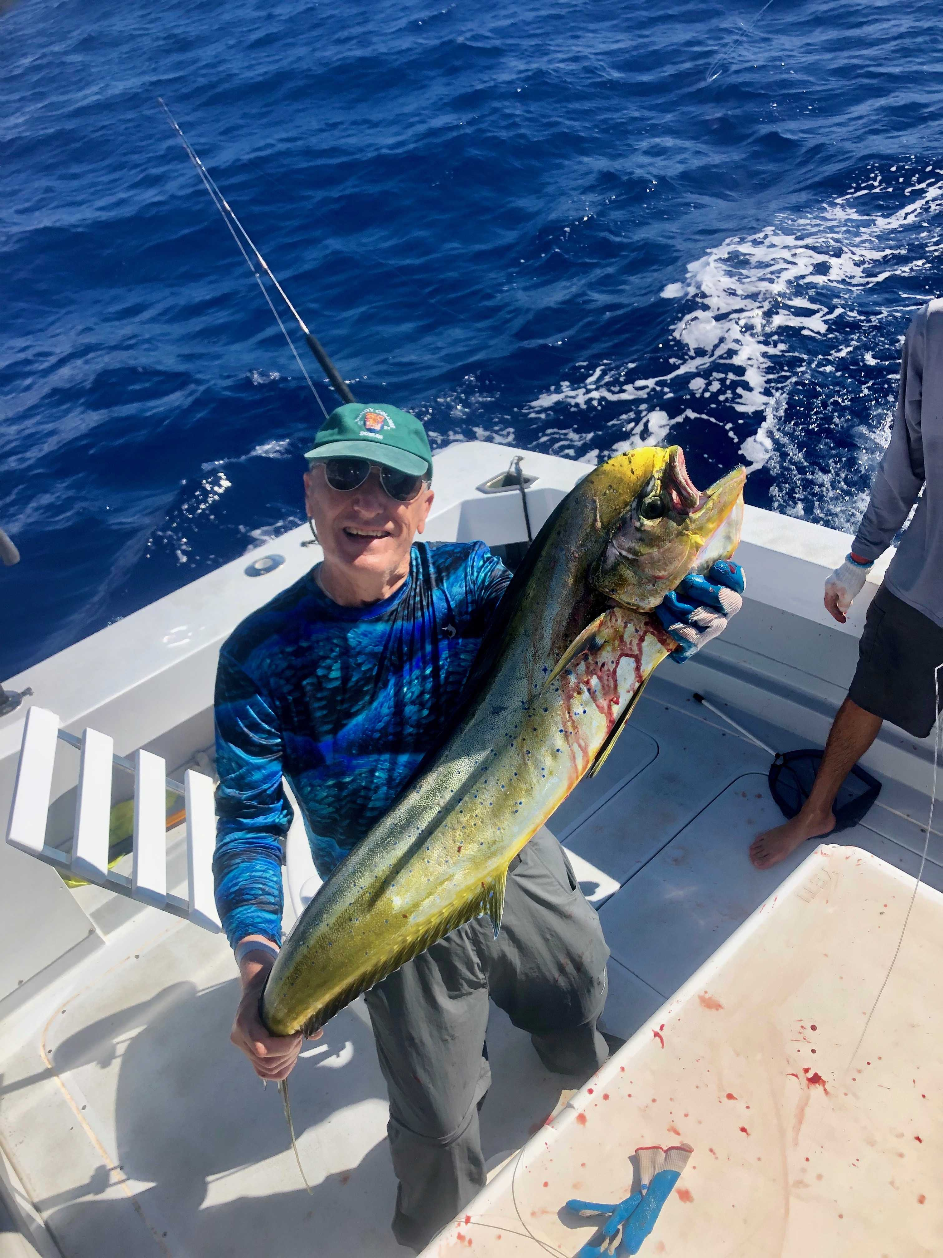 mahi mahi fishing Kauai